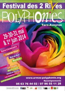 Affiche Printemps des 2 Rives 2014