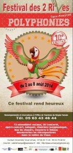 Affiche festival 2 rives 2014