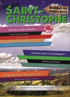 Affiche St Christophe